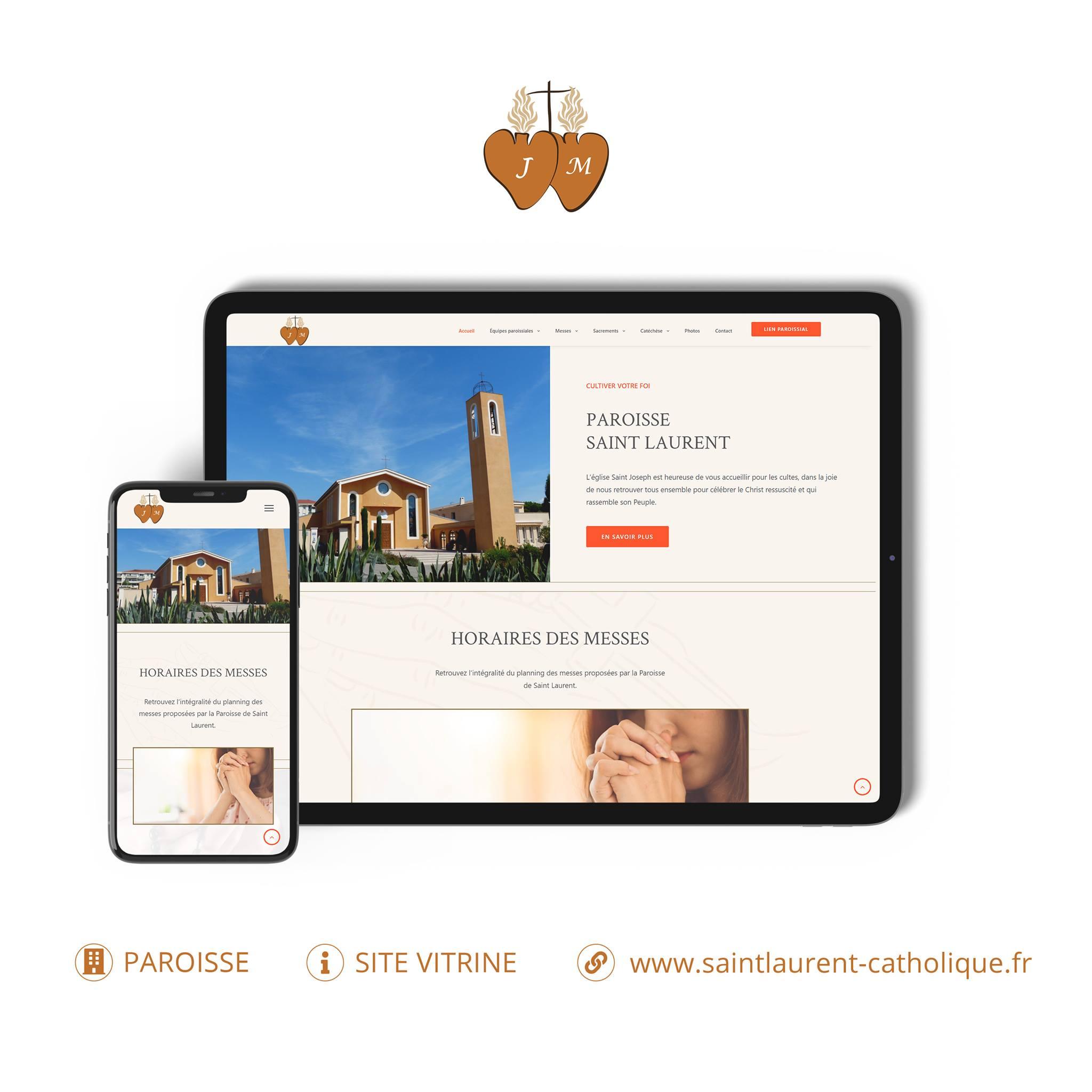 Paroisse saint Laurent site internet monsitelocal.fr