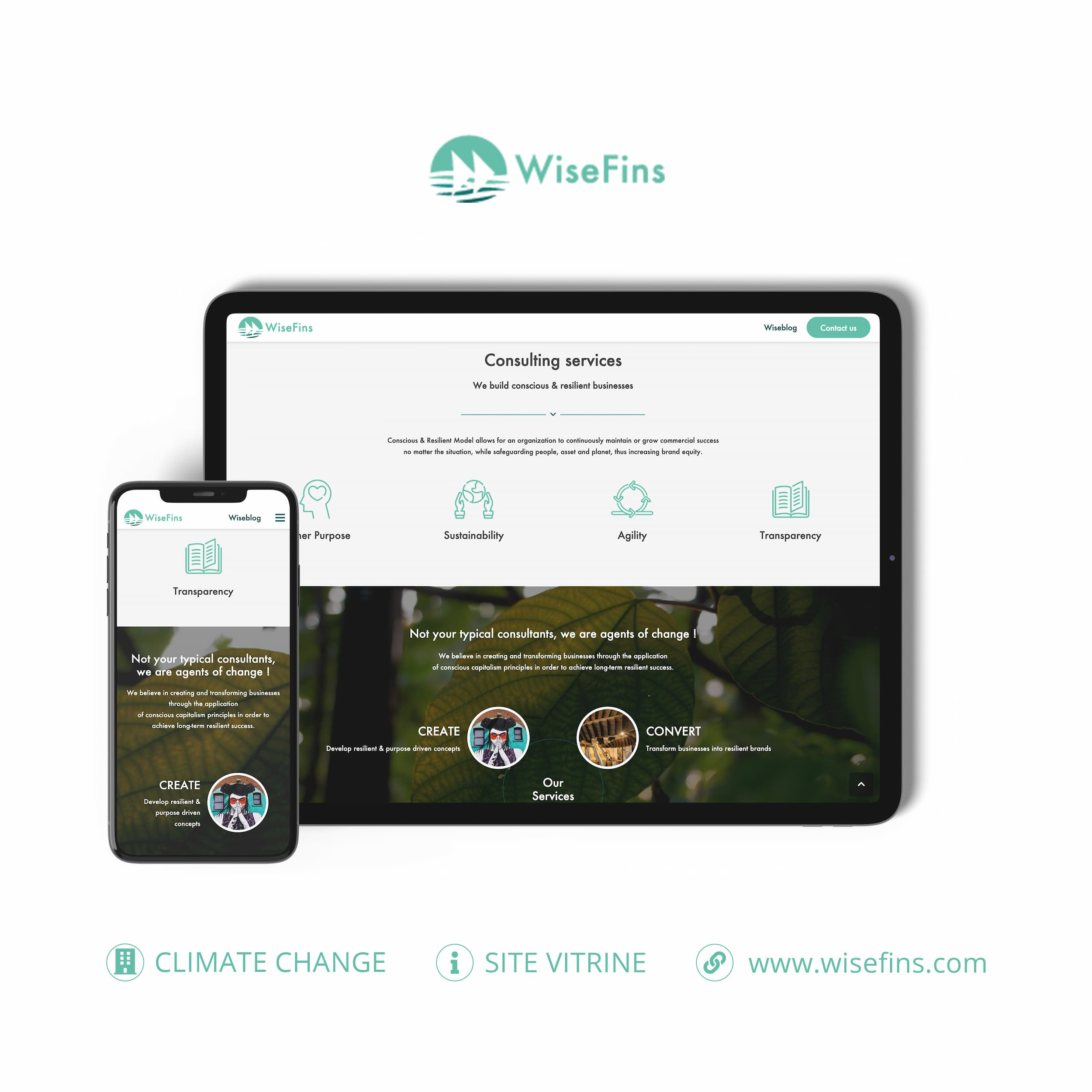 Wisefins site internet monsitelocal.fr